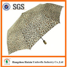Special Print straight wood auto umbrella with Logo