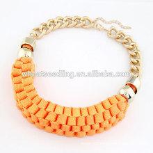 Handcrafted tide short handmade necklace