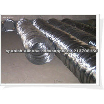 Fabrication électrique de fil de fer galvanisé