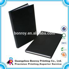 Impresión de libro de cubierta de tela de enlace de costura
