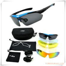 Подарок промотирования для Спортов eyewear набор с Pounch и дело