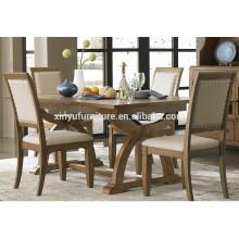 Newest design wooden restaurant table set XYN1493