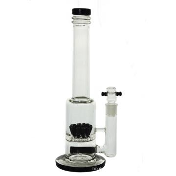 Tuyau d'eau en verre pour douche à cigarettes Sprinkler Hookah en ligne (ES-GB-440)