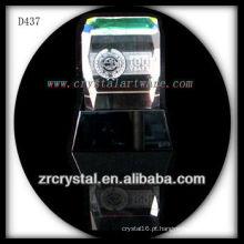 K9 3D Laser subsuperfície imagem gravada Crystal Block