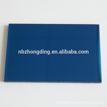 Blue huiles feuilles pc lexan polycarbonate feuille prix fournisseurs