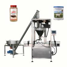 máquina de llenado automática para frascos de leche café en polvo