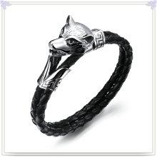 Jóias moda couro pulseira de couro da jóia (LB155)