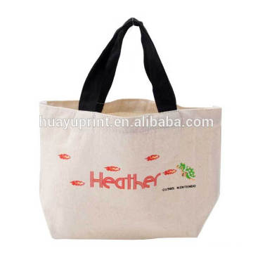 Bolsas de lona de dibujos animados, bolsas de almuerzo, bolsas de almuerzo, bolsas de compras