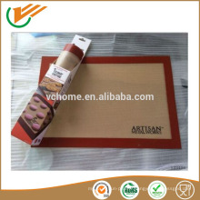 Ati-slip Tapis à pâtisserie en silicone personnalisé Tapis anti-adhésif en silicone pour décoration