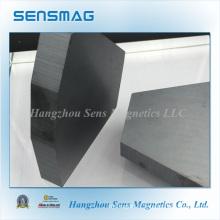 Aimant permanent en ferrite en céramique pour séparateur magnétique, moteur, frein