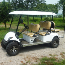 Carro de golf eléctrico vendedor caliente de 6 pasajeros / autobús turístico con precio bajo