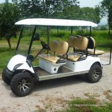 Venda quente 6 carrinho de golfe elétrico de passageiros / ônibus de turismo com preço baixo