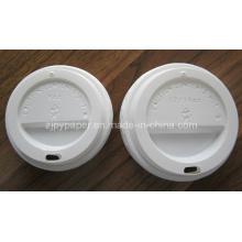 Couvercle en plastique coupe bouton pour tasse de café chaud