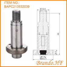 13,5 mm acero inoxidable tubo válvula de válvula de solenoide