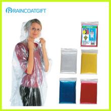 Cheap Disposable PE Rain Coat (RPE-016A)