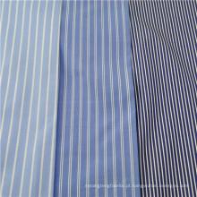Tecido de camisa de algodão egípcio de 100%