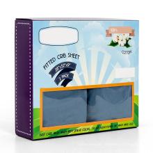 elastisches Spriztuch des Babymädchens mini passendes Spickzettel-Blatt der atmungsaktiven Spannbettlaken