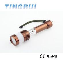 Marteau d'urgence Strong Light 3.7V 200 Lumen Dimmer Rechargeable Led Flashlight