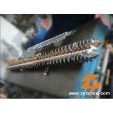 Tornillo gemelo paralelo y barril para el barril de tornillo de la protuberancia del PVC