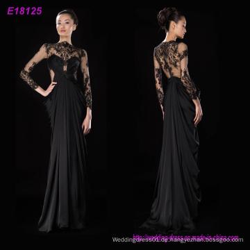 Großhandelsart und weise klassische Entwurfs-lange Hülsen-Abend-Kleid-Partei-Kleid
