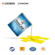 Automotive Paint InnoColor Lemon Yellow 1K Basecoat