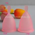 taza menstrual médica del color rosado de la fuente directa de la fábrica para las mujeres
