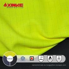 Tejido de hilado ignífugo intrínsecamente ignífugo NFPA 2112 de Xinke