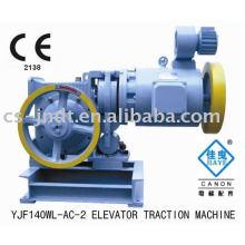 Máquina de tração de elevador de engrenagem YJF140WL-AC-2