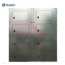 2*5/5*5/3*8 Layout Transparent PVC Wet Inlay/ RFID Prelam Sheet