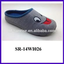 cheap chinese latest nice nice felt slipper