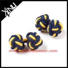 Novos botões de punho de seda 2013 no nó