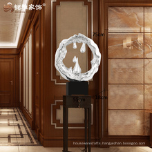 Modern home decoration crafts resin decorative large statue for office decor