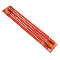 Очаровательный набор шампуров из 4 предметов с деревянной ручкой