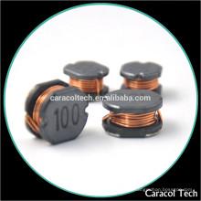 Fabricantes Wire Wound 100uh 0.1A SMD Inductor de potencia para convertidor DC-DC