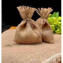 Embalaje de regalo reciclable ecológico Bolsa de yute de Gunny