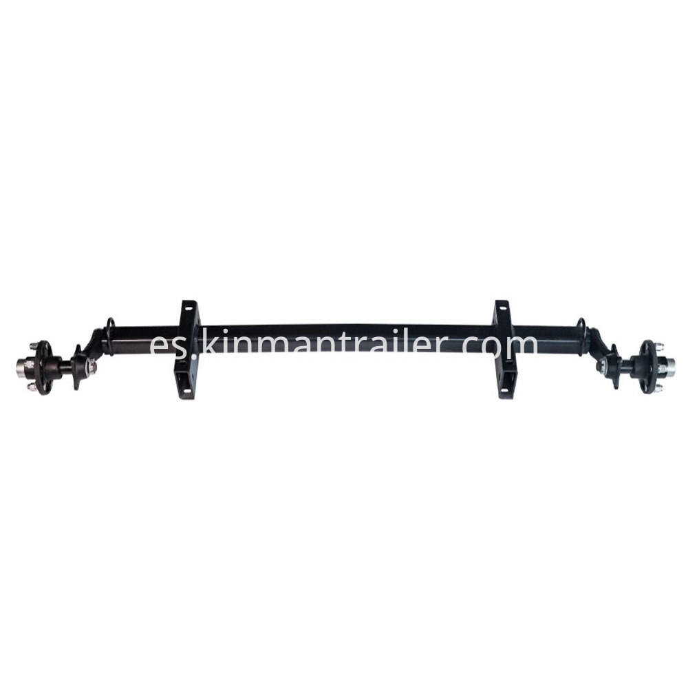 Trailer Rubber Torsion Axle Without Brake