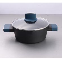 Caçarola elegante de alumínio com bom desempenho de impressão