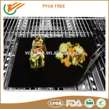 LFGB FDA zertifiziert Hochtemperaturbeständigkeit BBQ Grillmatte Nicht klebrige wiederverwendbare Menge von 2 oder 3
