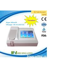 Analyseur de chimie semi-automatique MSLBA06 Plus-A / analyseur semi-automatique de biochimie / analyseur d'urine semi-automatique
