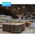 Good Quality Black Wooden Pet Used Racks Gondola Light Metal Supermarket Shelf Display Supermarket Shelves Commercial