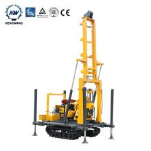 300m depth soil hydraulic crawler water well drilling rig machine