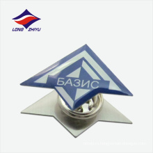 Уникальная застежка-бабочка линия логотип нагрудным знаком