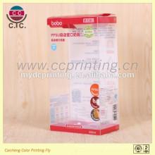 Boîte de cadeau en plastique de haute qualité rectangle bébé feeder