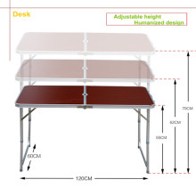 Premium Adjustable Outdoor Folding Table