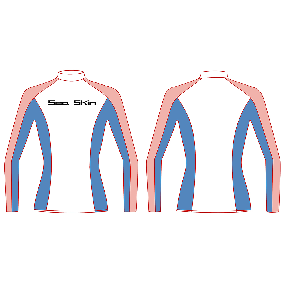 Seaskin Women Long Sleeve Rashguard 20
