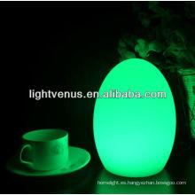 Decorativo multicolor cambiando lámparas de mesa LED