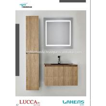 Vase économique de salle de bain économique moderne avec grande unité et miroir