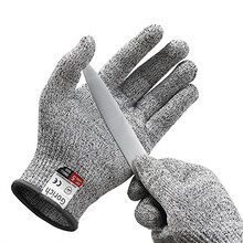 Cheap Price Level 5 Food Grade Cut Resistant Gloves
