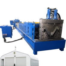 Nut&bolt Panel Quonset Making Machine Quonset Huts Building Machine Roof Building Machine Screw-joint Metal Tile Forming Machine