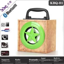 2017 Alibaba Nature Wood Full range 10W Portable cooler mini wireless speaker